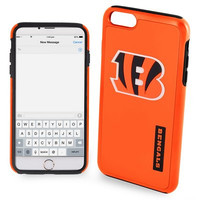 Cincinnati Bengals Impact Dual Hybrid AI6 Cover for iPhone 6 Plus Official NFL TPU 2-PIECE