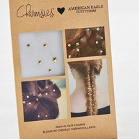 AEO Women's Charmsies X  Iron-in Hair Charms (Gold)