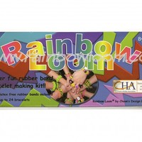 BONUS Rainbow Loom® Complete Package with An Additional Mixed with Jelly Band | Rainbow loom