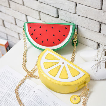 Fashion  Women Ice cream Mini Bags Small  Clutch Crossbody