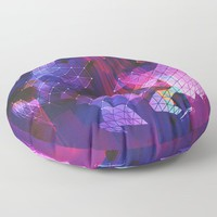 Powerful Defeat Floor Pillow by duckyb