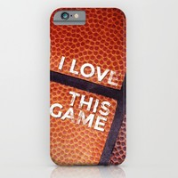 I love this game iPhone & iPod Case by Ylenia Pizzetti | Society6