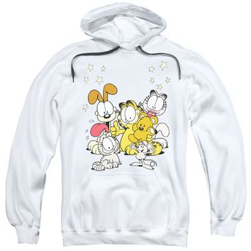 Garfield - Friends Are Best Adult Pull Over Hoodie