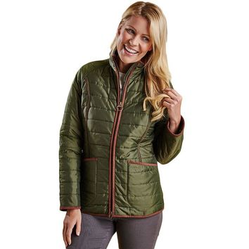 Fell Polarquilt Jacket in Olive by Barbour - FINAL SALE
