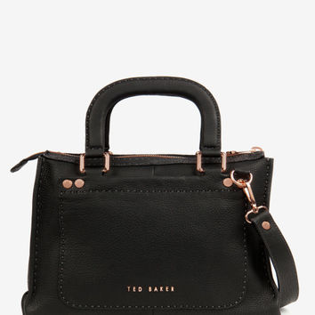 Stab stitch bag - Black | Bags | Ted Baker UK
