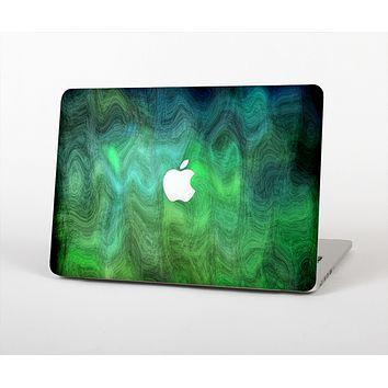 The Vivid Green Sagging Painted Surface Skin Set for the Apple MacBook Air 13""