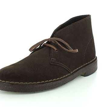 Clarks Originals Men's Desert Boot,Brown Suede,13 M US