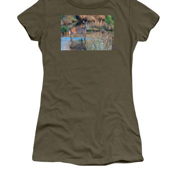 Discovering Rain Pebble - Women's T-Shirt (Junior Cut)