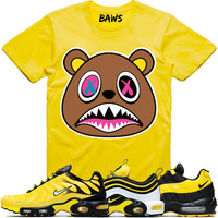CRAZY BAWS Yellow Shirt - Nike Air Max Frequency Pack Bumble Bee