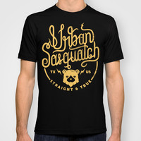 Urban Sasquatch Logo T-shirt by Urban Sasquatch