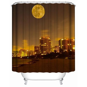 Fashion Shower Curtain Waterproof Home Decor   Soft Polyester, Decorative Bathroom Accessories   Great for Showers &