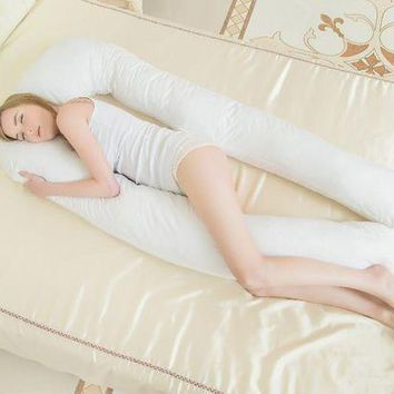 ac NOOW2 pregnancy Comfortable big U type pillows Body pillow For Pregnant Women Best For Side Sleepers Removable 6color 152*72*22cm