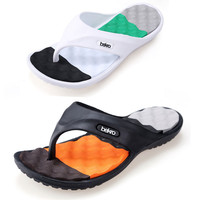 Hot Sale New 2016 Summer EVA Shoes Fashion Flip Flops Men Sandals,Male Flat,Massage Beach Slippers Black White,Plus Size 41 - 45