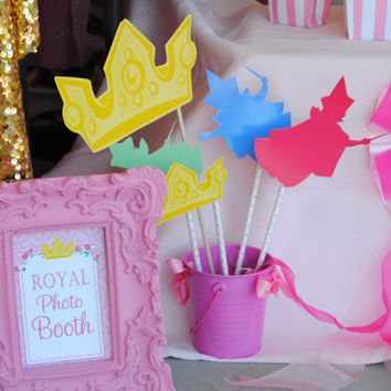 Sleeping Beauty Party - Sleeping Beauty GRAPHICS - Disney Princess Party - Aurora Party - Sleeping Beauty Printables - INSTANT Download