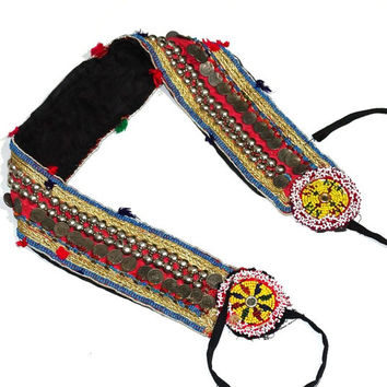 Banjara Belly Dance Belts, Hippie Belts, Tribal Gypsy Belly Dance Belts, Banjara Tribal Belts Authentic banjara belts Banjara Beaded belts