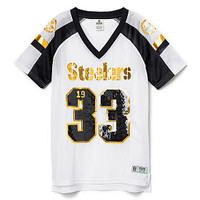 Pittsburgh Steelers Bling V-neck Jersey - PINK - Victoria's Secret
