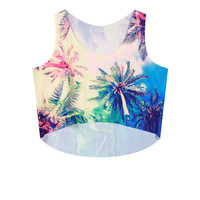 Sleeveless Crop Top Tank Top = 4823985284