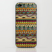 Hippie Chick II iPhone & iPod Skin by Jenndalyn | Society6