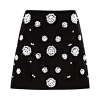 Shell Beading Mini Skirt by Tibi for Preorder on Moda Operandi