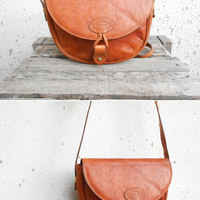 Vintage ORONTON Leather Purse // Crossbody Bag // Medium // Genuine Cowhide Made in Australia