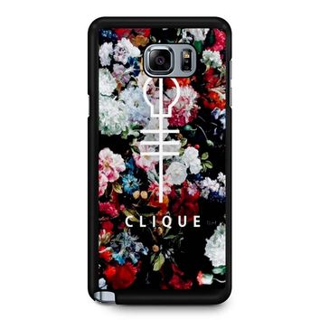 Twenty One Pilots Skeleton Clique 2 Samsung Galaxy Note 5 Case