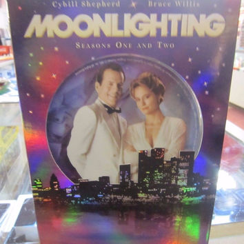 "DVD SET SEASON 1&2  "" MOONLIGHTING"""