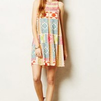 Amalie Swing Dress by Anthropologie Multi