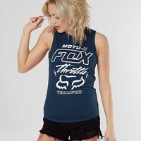 FOX THROTTLE MANIAC MUSCLE TANK TOP