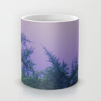 Lavender Skies, Green Trees Mug by DuckyB (Brandi)