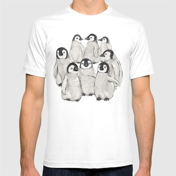 Penguins T-shirt by Y.B. Webb