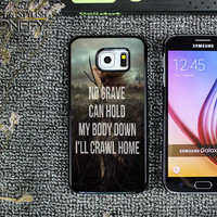 Hozier Work Song Lyric Samsung Galaxy S6 Case|iPhonefy