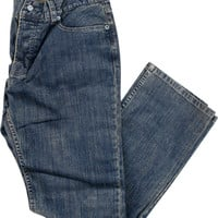 Girl Jean 28-Antique Indigo Fitted