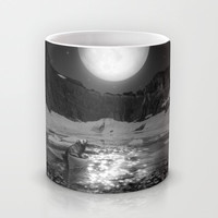 Somewhere You Are Looking At It Too Mug by Soaring Anchor Designs | Society6