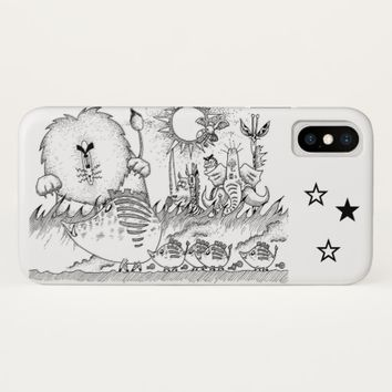 African Prairie iPhone X Case