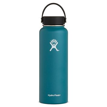 40 oz Wide Mouth Hydro Flask - Jade