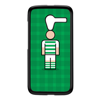 Yeovil Black Hard Plastic Case for Moto X by Blunt Football