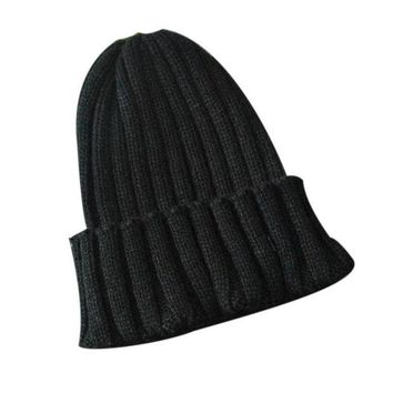 LMF9GW Women's Winter Warm Hat Slouchy Baggy Skiing Cap Knitted Beanie Oversize  hair accessories Handmade Drop Shipping WOct29