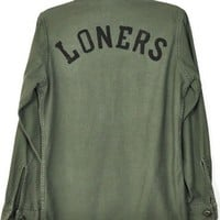 Obesity and Speed Loners Army Shirt