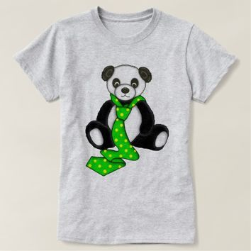 Cute Panda Bear Graphic T-Shirt