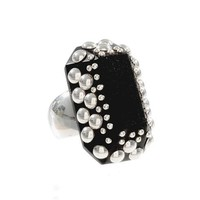 Greenwich Jewelers | Products | Category | Rings | Under $150 | Argento Wood Ring with Sterling Silver Studs