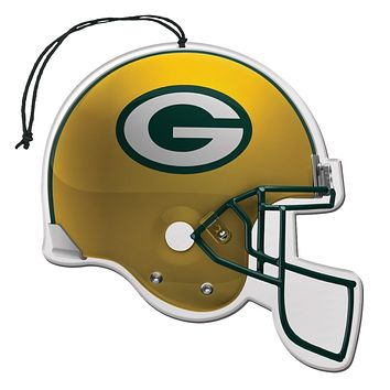 Green Bay Packers Helmet Car Freshener 3-Pack