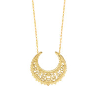 Eastern Crescent Necklace