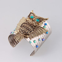 Hot Factory Price Owl Shape Open Bangles