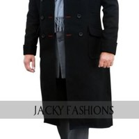 Sherlock Holmes Cape Coat in High Quality Wool Fabric + FREE GIFT