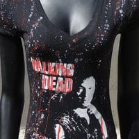 DiY The Walking Dead Top Zombies Daryl Dixon You choose the size