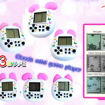 Virtual Cyber Digital Classic game machine Electronic Digital E Game  Retro Funny Toy Handheld Game Machine Tamagochi Toy Game .