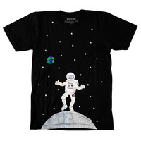 Moon Man Black Tee