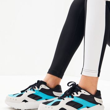 Reebok x Gigi Hadid White and Black Aztrek Double Sneakers | PacSun