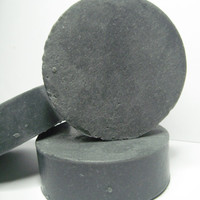 Activated Charcoal Handmade Bar Soap Unscented With Lanolin Acne Soap Skin Care Problematic Skin Soap