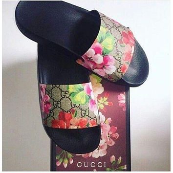 One-nice™ Gucci Casual Fashion Women Sandal Slipper Shoes I
